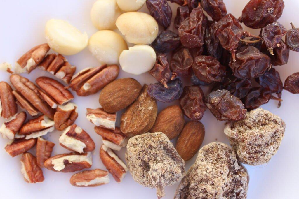 fruits secs en andalousie